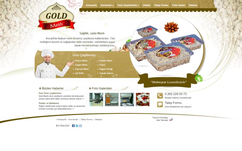 Gold Mantı